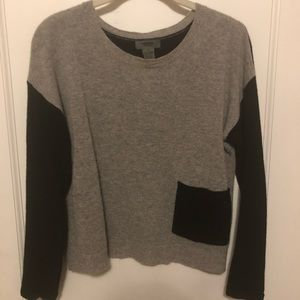 100% Cashmere Cropped Sweater